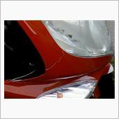 PGO Allro アッローロ 125 のフロントカウル割れ修理 塗装やり替え①