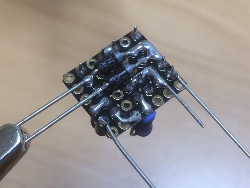 フットランプ減光回路 その2