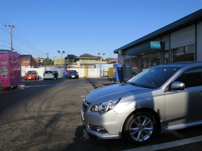 朝一で洗車と小弄り
