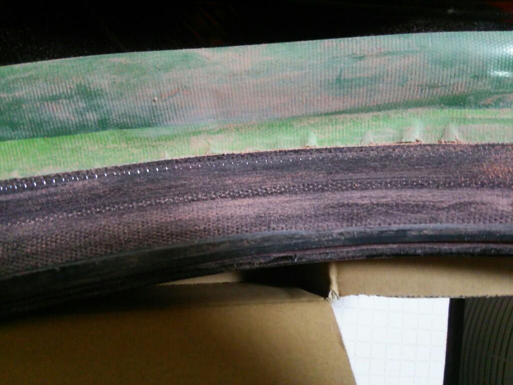 テールのサイドマーカー部分レンズカット除去