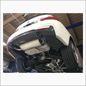 BMW 420iワンオフマフラー製作その1の画像