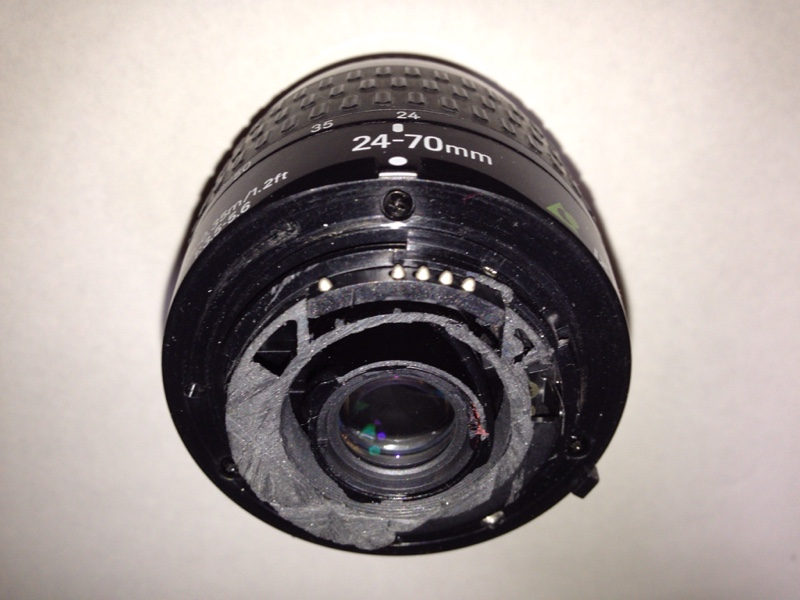 「IX Nikkor 24-70mm F3.5-5.6」Gタイプ化