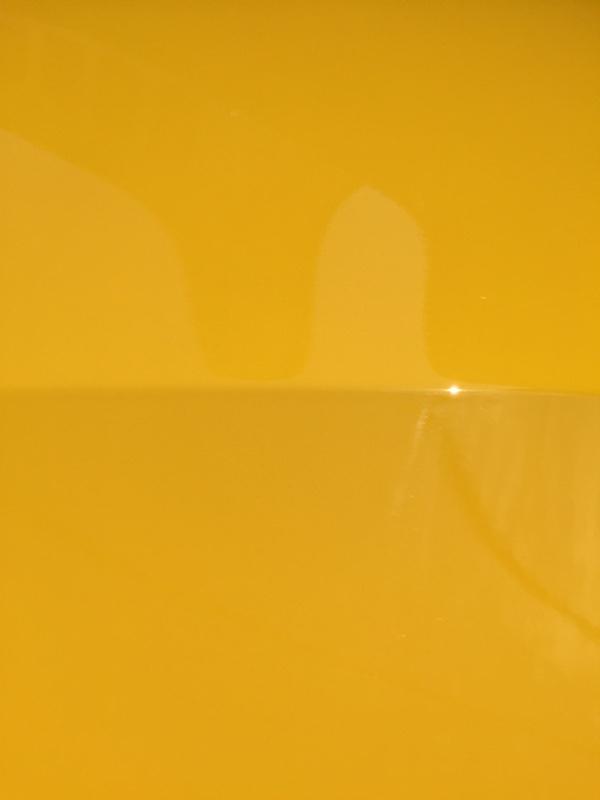 黄色騒動の仕上がり具合