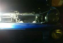 インプレッサ スポーツワゴン WRX ホーン交換のカスタム手順1