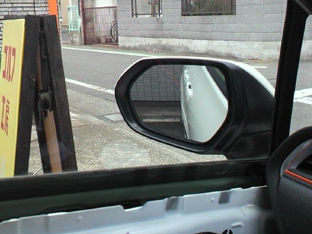 トヨタ純正 リバース連動ミラー