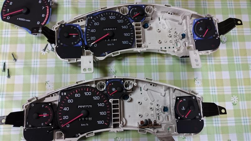4型メーター交換(一部)