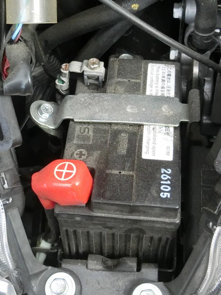 バッテリ交換(20101km)