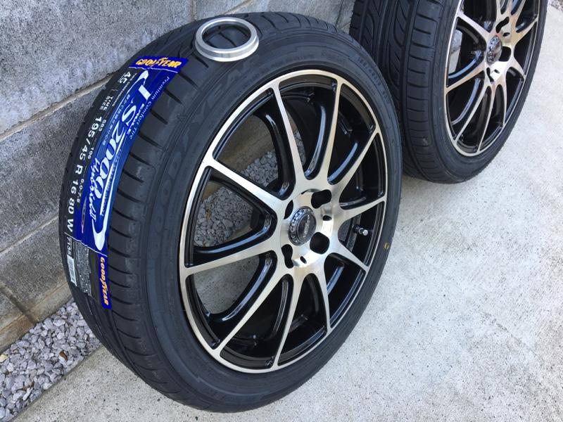 慣らし 新品 タイヤ