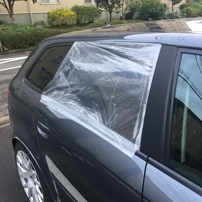 窓落ち修理