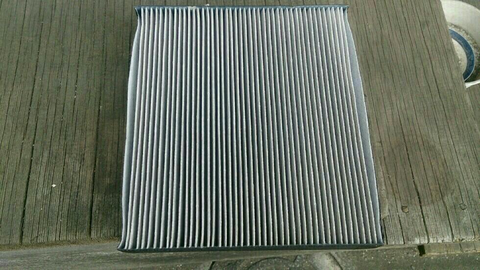エアコンフィルター洗浄ッス🙋