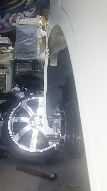 tuning garage REV 爪折り 骨格変更 mh34s