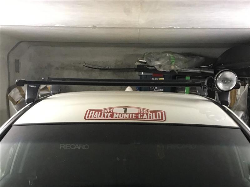 Thule スーリー ラピッド 750 ベースキャリア取付