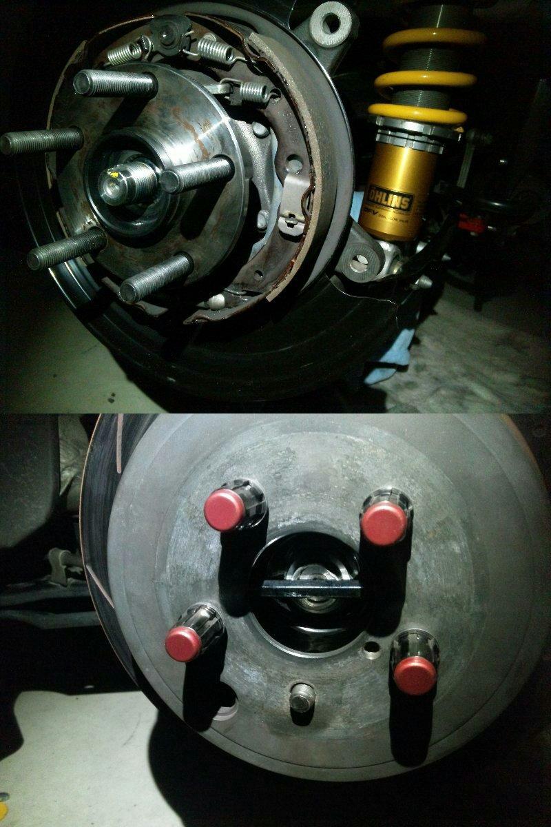 86/BRZ ドライブシャフト交換、プロアイズ富士、インジェクターシール再破損