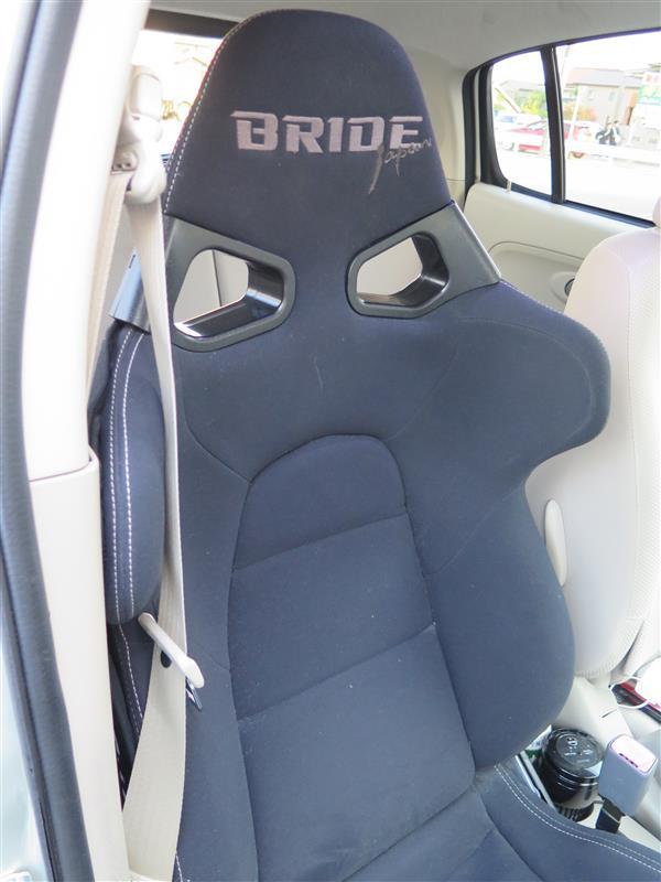 運転席シート交換