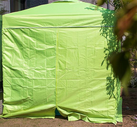 タープテント 塗装場