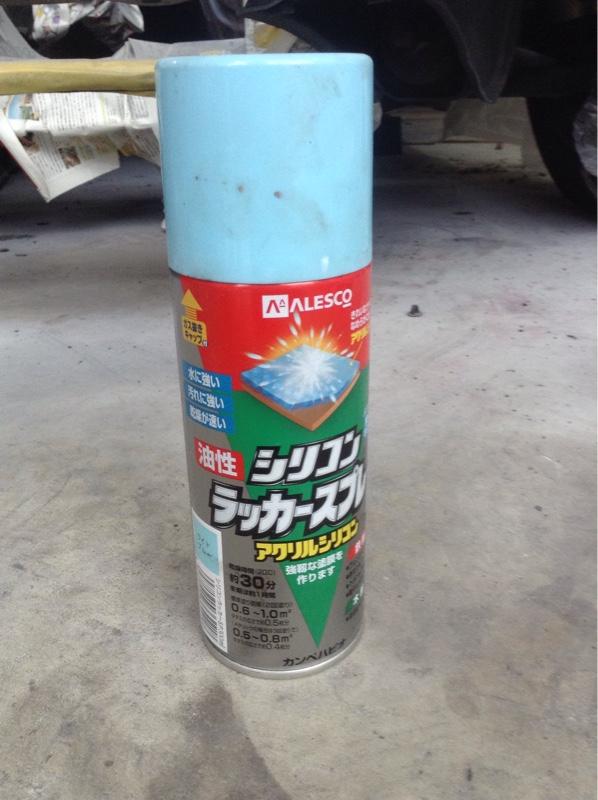 エンジンルーム塗装