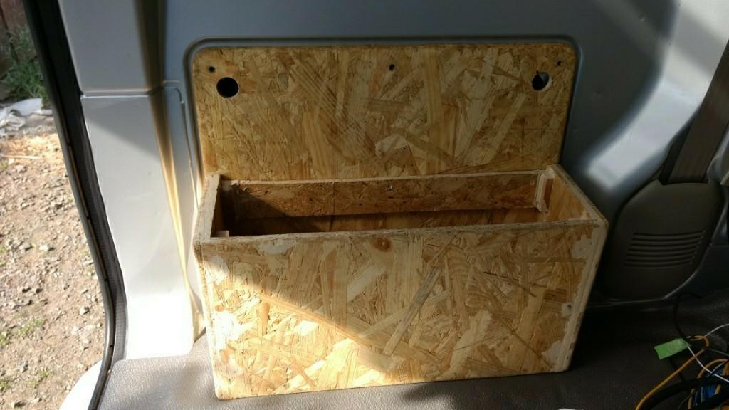 サブバッテリーボックスの作製