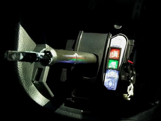 シフトポジション LED化