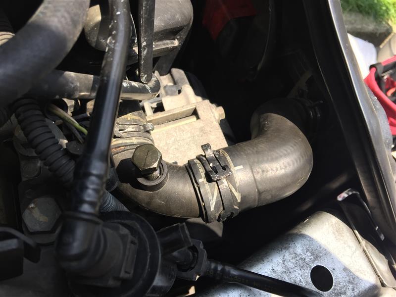 BMW MINI R50 前期 ラジエター電動ファン レジスター交換