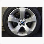 BMW-X5(E53) 19インチ(スタースポーク132)から20インチ(Vスポーク168)へ♪