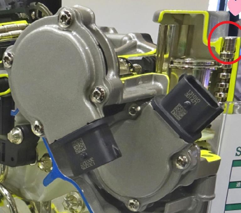 修理:電動ギアアクチュエータ交換