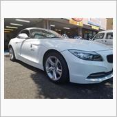 BMW:Z4(E89)アドバンTCⅢ 18インチお取り付け!ハブも綺麗に♪