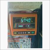 そして、段ボールの重さを0にして計測。<br /> <br /> 約6キロの軽量化に成功😁🎵