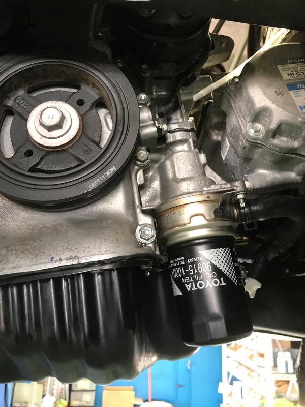エンジンオイル消費と修理