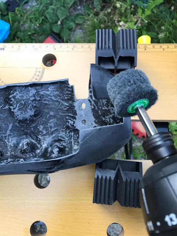 K2GEAR ブレーキカバー塗装第二弾