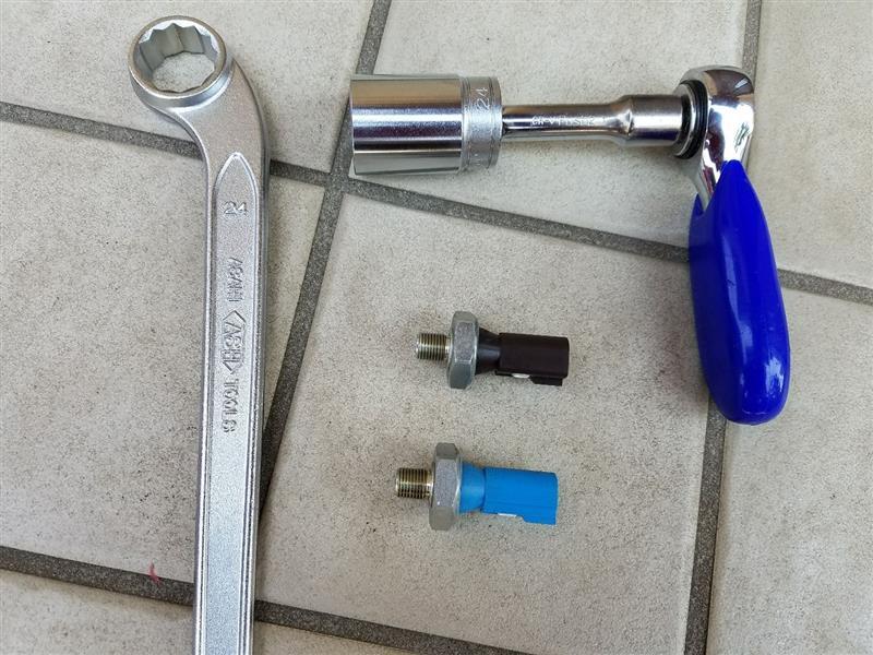 油温センサーと油圧センサーを付けようよ