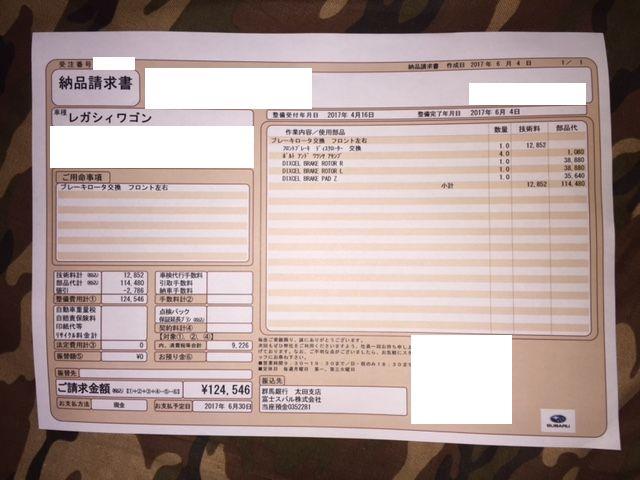 ディクセル FS・2ピースローターに交換