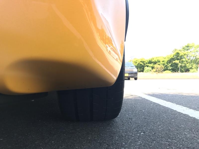 タイヤ交換してみました。