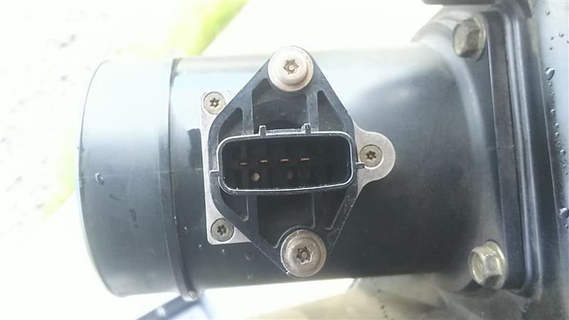 エアフローセンサー 交換