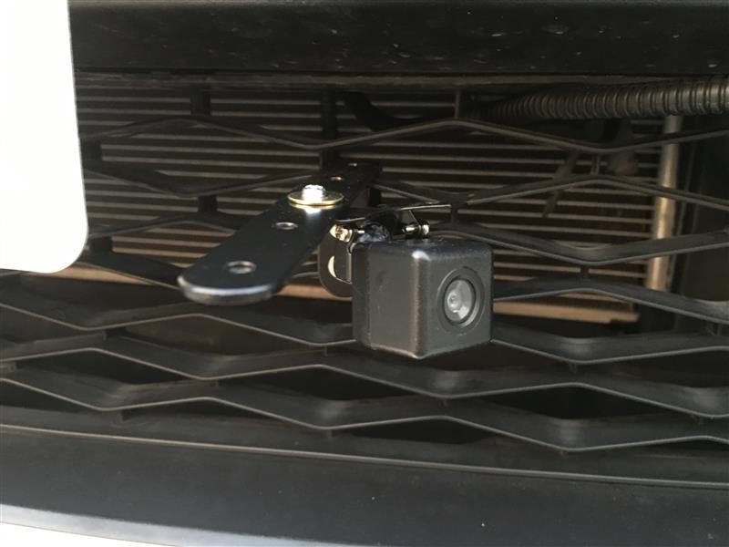 フロントカメラ取付