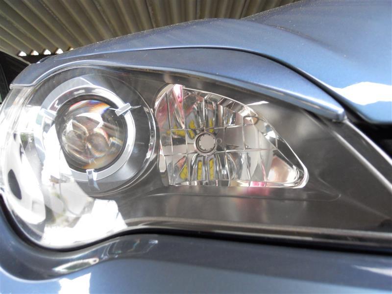 旧LEDから新LEDに付け替え(HB3ハイビーム)