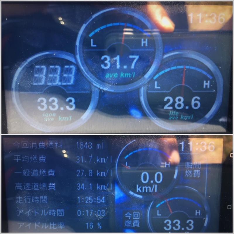 eco Glider GT+ 走行記録 1412★★志賀島ドライブ・往路