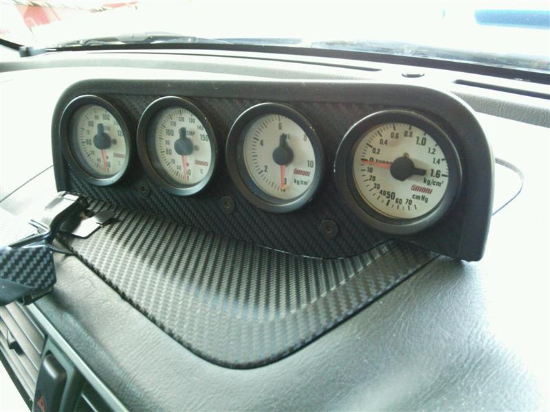 油温計、水温計配線