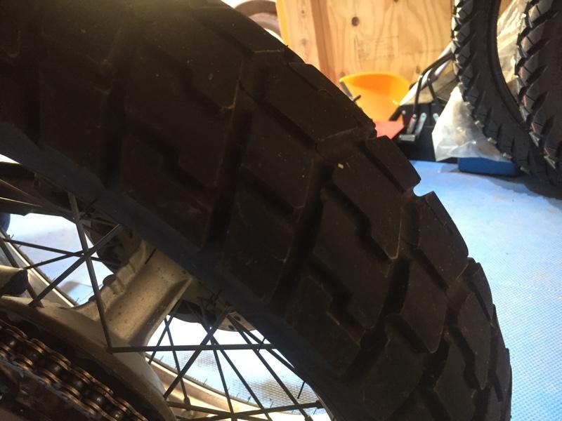 タイヤ交換しました。