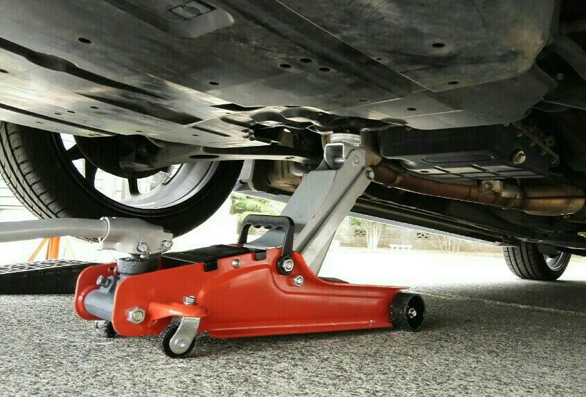 車高調整(1cm下げ)