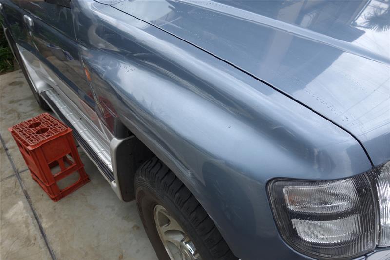 ワックス洗車 132,000km