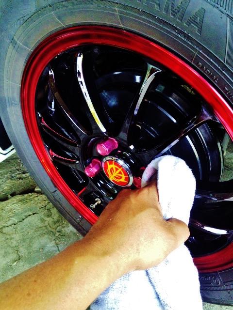 ・・・・・・・・・洗車  ③