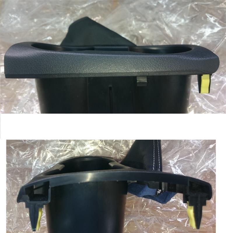 カップホルダーのイルミ改良&ホールド性UP(その2)