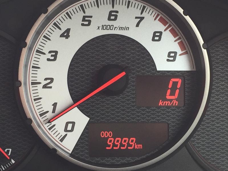 9,999km〜10,000km