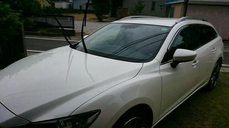 2回目のスパシャン 洗車