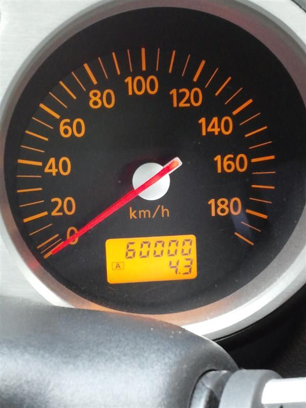 走行距離60000km達成!
