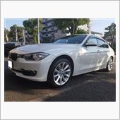BMW:F30(3シリーズ)パラレルスポーク416のお取り付け♪