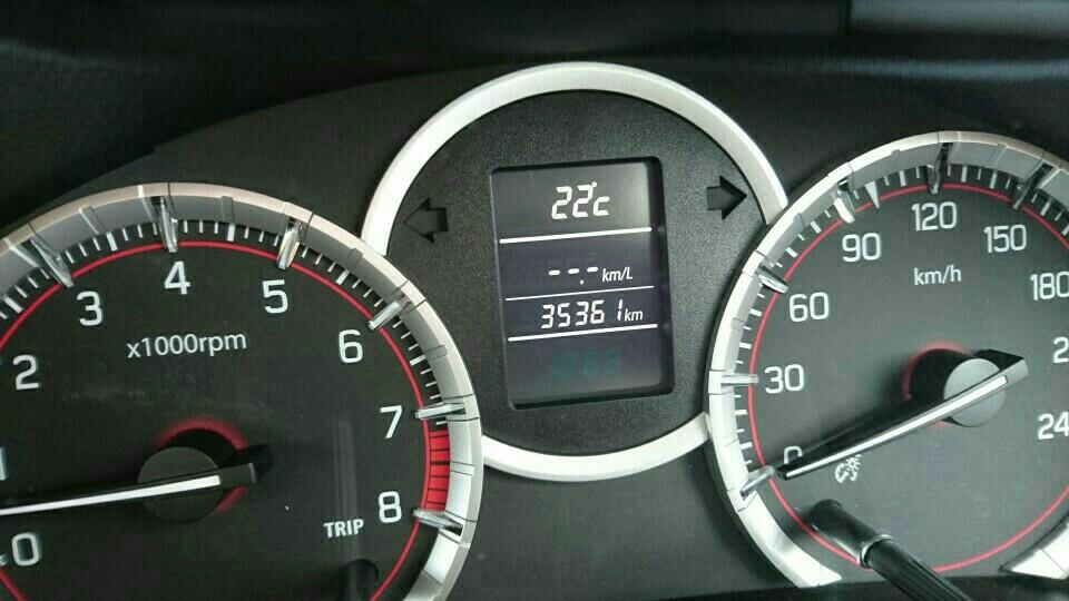 エンジンオイル交換 35,361km
