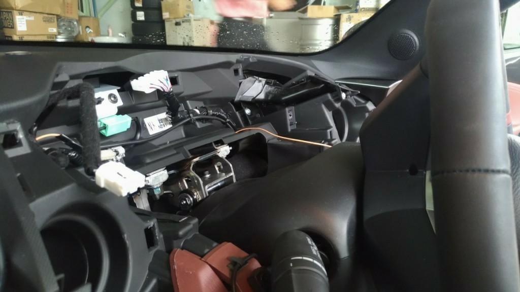 EDFC車速センサー取り付け