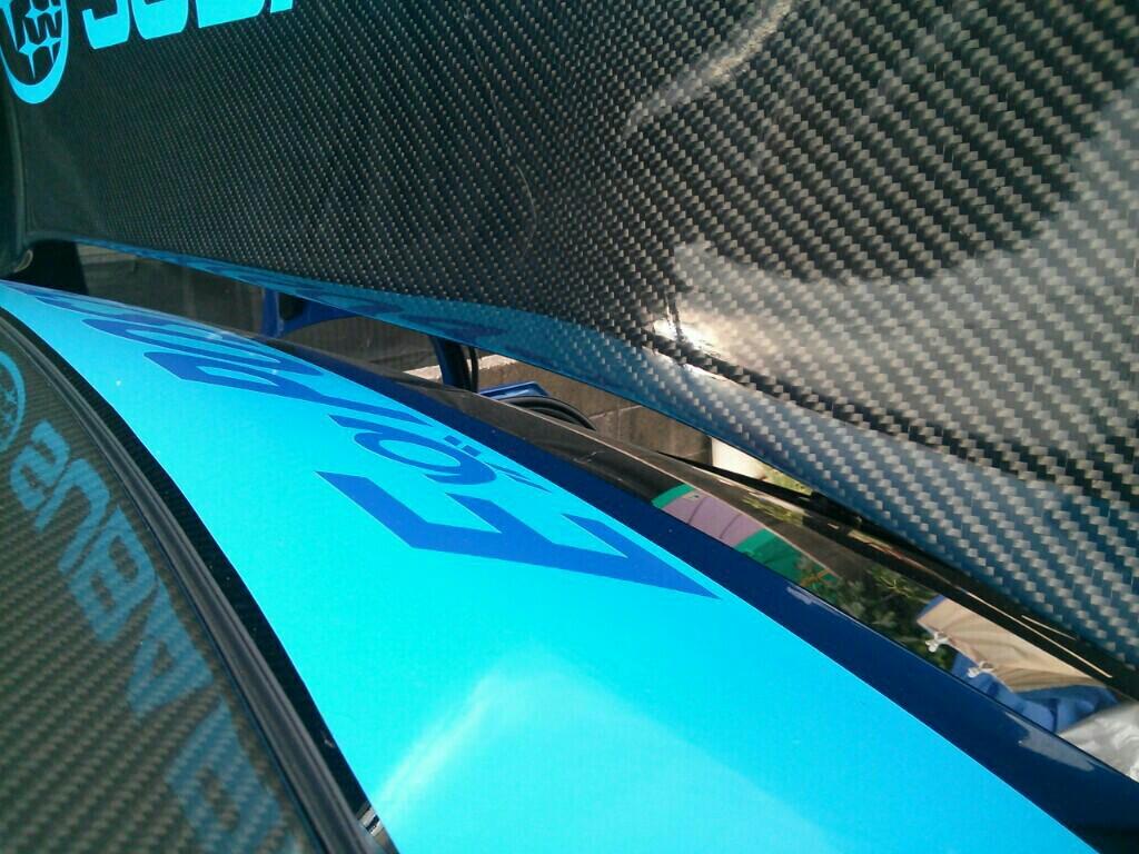 VOLTEX  GT wing  の 干渉対策