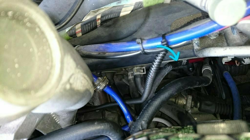 燃料ホース交換